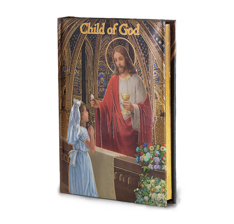 Child of God First Communion Prayer Book- Cathedral Edition (Girls)