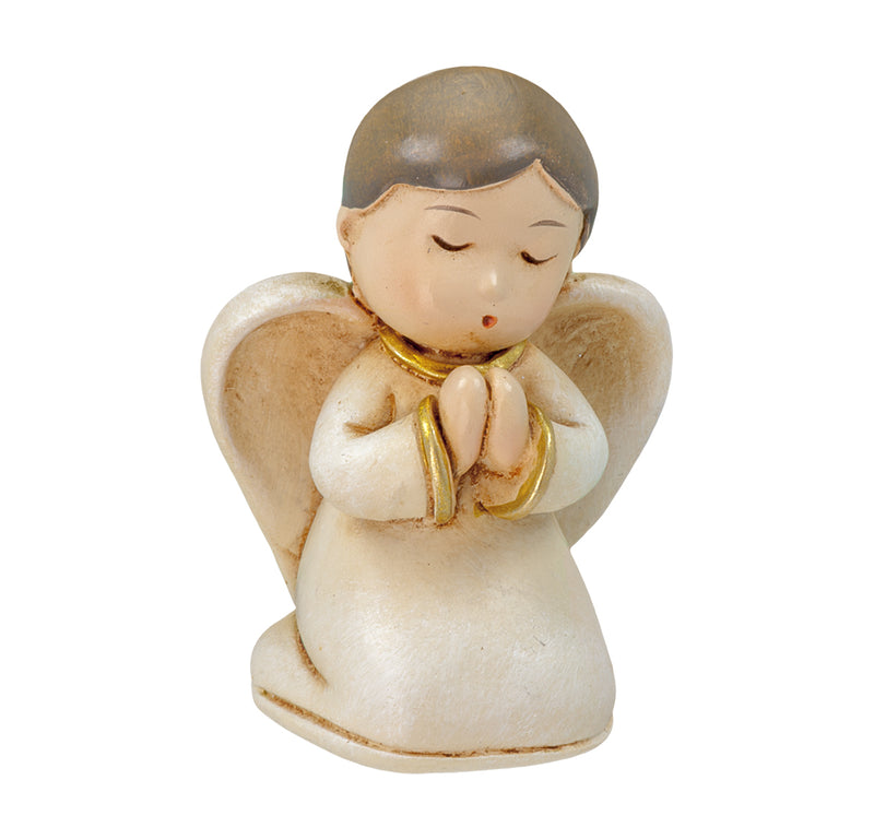 Child of God Cathedral Edition Simulated Wood Carved Praying Angel