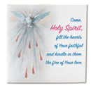 "4"" Square Holy Spirit Ceramic Tile"