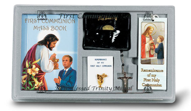6 Piece First Communion Gift Set (Boys)