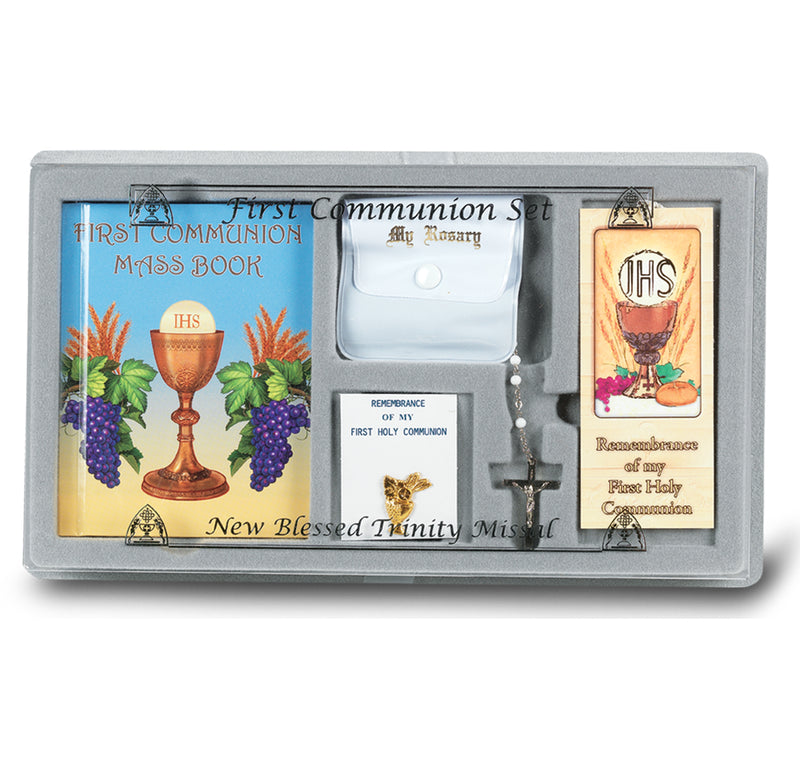 6 Piece First Communion Gift Set (Chalice)