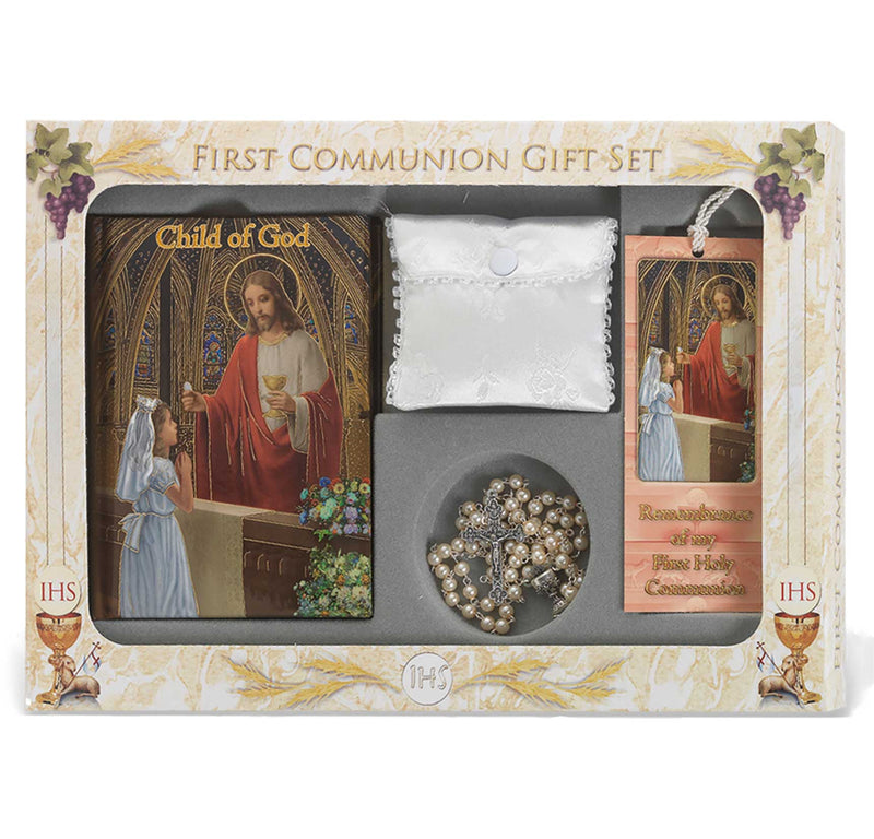6 pc. Deluxe Communion Gift Set (Girls)