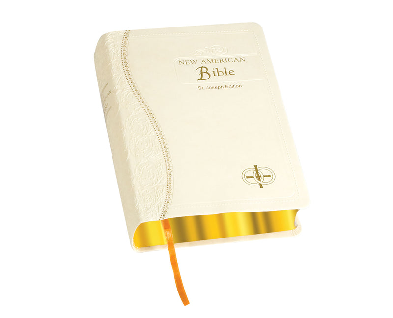 St. Joseph New American Bible Dura-Lux Gift Edition Bride's Bible (Medium Size)