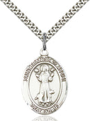 St. Francis of Assisi Sterling Silver Medal