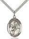 St. John of God Sterling Silver Medal