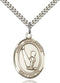 St. Christopher Gymnastics Sterling Silver Medal