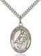St. Thomas of Villanova Sterling Silver Medal