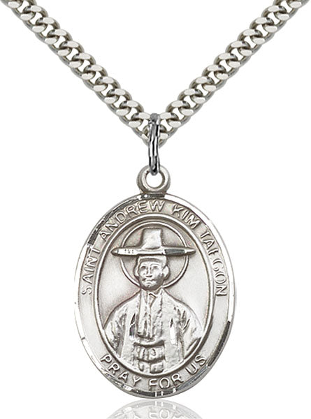St. Andrew Kim Taegon Sterling Silver Medal