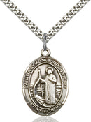 St. Raymond of Penafort Sterling Silver Medal