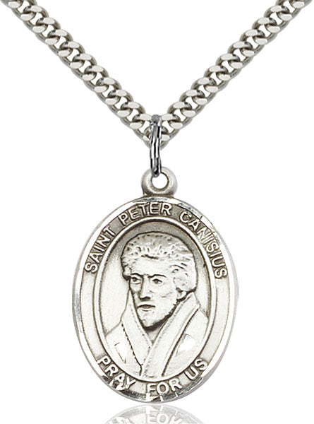 St. Peter Canisius Sterling Silver Medal