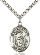 St. Paul the Hermit Sterling Silver Medal