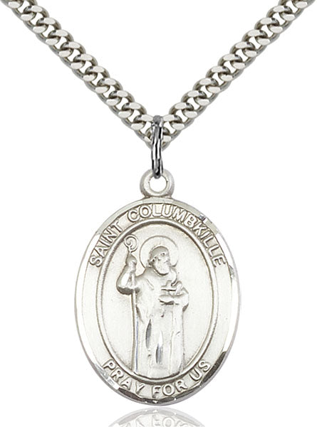 St. Columbkille Sterling Silver Medal