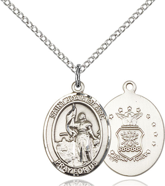 St. Joan of Arc U.S. Air Force Sterling Silver Medal