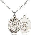St. Joan of Arc U.S. Navy Sterling Silver Medal