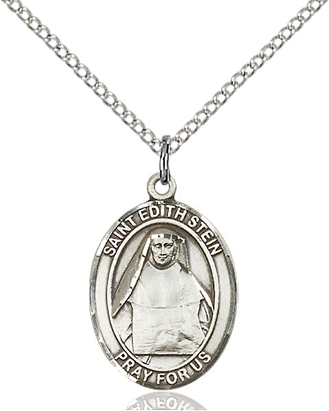 St. Edith Stein Sterling Silver Medal