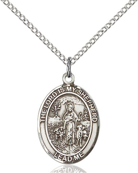 The Lord is my Shepherd Sterling Silver Medal