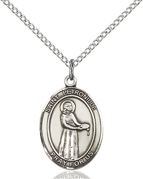 St. Petronille Sterling Silver Medal