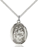 Holy Family Sterling Silver Medal