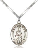 Our Lady of Victory Sterling Silver Medal