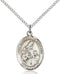 St. Margaret of Scotland Sterling Silver Medal