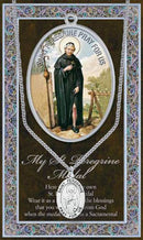 Saint Peregrine Medal - Patron of Cancer Patients