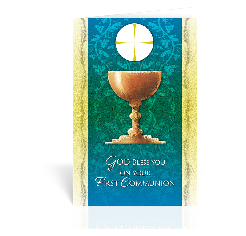 Chalice Communion Card