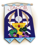 Gates of Heaven First Communion Banner Kit - Royal Blue