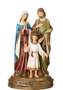 Holy Family Figure - Color - 10.5""
