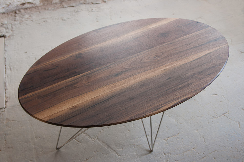 Multi-Axis Coffee Table – Wattled Walnut