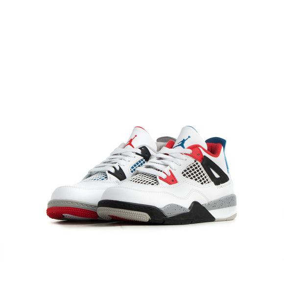 Air Jordan Retro 4 IV 'What the' Toddler & Preschool - airdrizzykicks.com