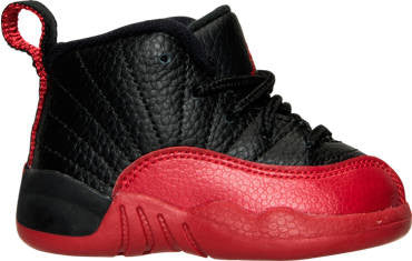 outlet store cdcaf 447ac Air Jordan Retro 12 XII 'Flu Game' Toddler TD & Preschool PS