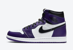 "Air Jordan 1 High OG ""Court Purple 2.0"" Mens - airdrizzykicks.com"