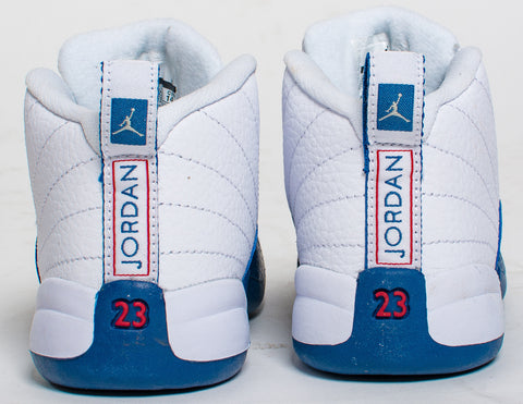official photos b0100 52624 Air Jordan Retro 12 XII  French Blue  Toddler TD ...