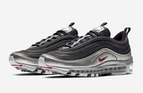 "Nike Air Max 97 ""Metallic Silver"" Mens"