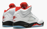 "Air Jordan 6 Retro  ""Fire Red Silver Tongue 2020""  GS Gradeschool - airdrizzykicks.com"