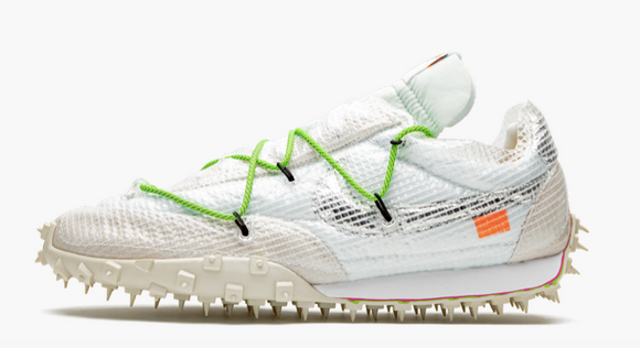 "Nike Off-White x Waffle Racer SP  ""Electric Green""  Women's"