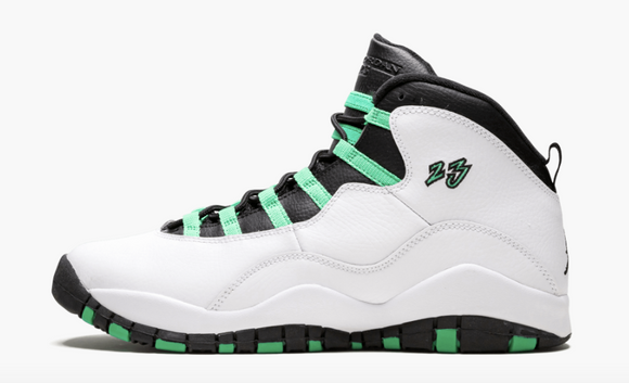 "Air Jordan 10 Retro 30th Anniversary  ""Verde"" Gs Gradeschool"
