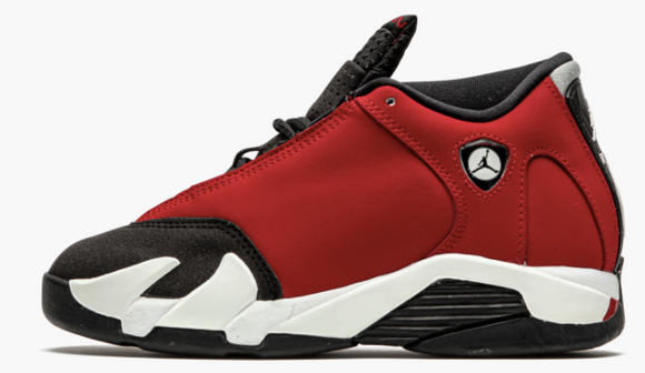 "Air Jordan 14 Retro PS ""Gym Red Toro"" Toddler & Preschool - airdrizzykicks.com"