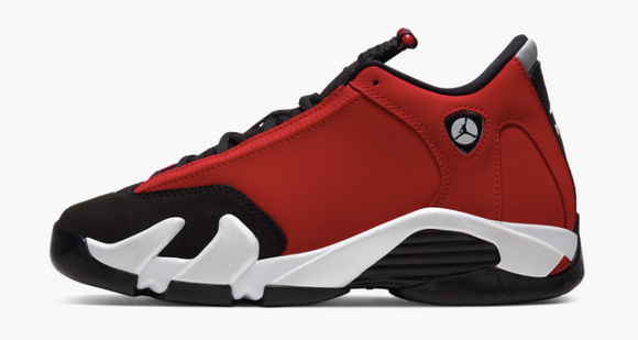 "Air Jordan 14 Retro ""Gym Red"" GS Gradeschool"