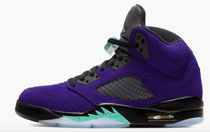 "Air Jordan 5 Retro  ""Alternate Grape"" Mens - airdrizzykicks.com"