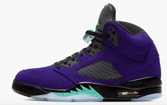 "Air Jordan 5 Retro  ""Alternate Grape"" Mens"