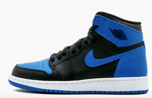 "Air Jordan 1 Retro High OG ""Royal"" GS Gradeschool - airdrizzykicks.com"