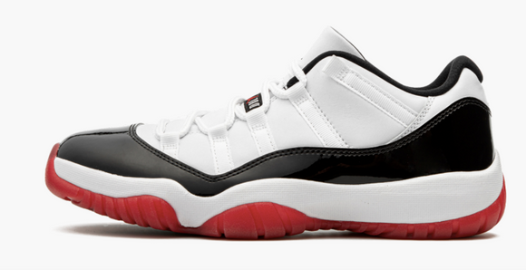 "Air Jordan 11 Low  ""Concord Bred"" Mens"