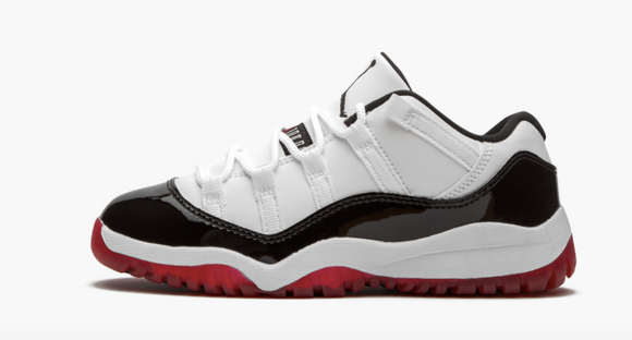 "Air Jordan 11 Low ""Concord Bred"" Toddler & Preschool"