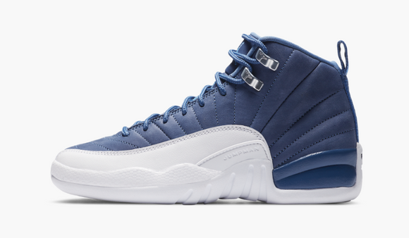 "Air Jordan 12 Retro GS  ""Indigo"" GS Gradeschool - airdrizzykicks.com"