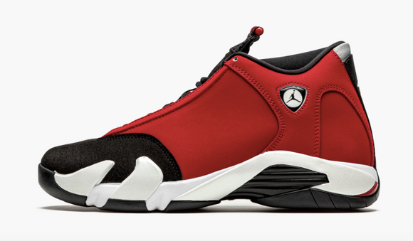 "Air Jordan 14 Retro  ""Gym Red Toro"" Mens - airdrizzykicks.com"