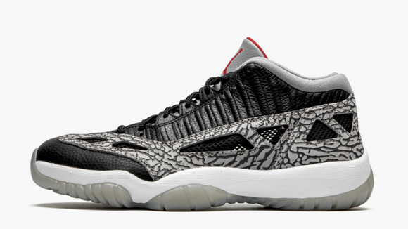 "Air Jordan 11 Low IE  ""Black Cement"" Mens - airdrizzykicks.com"
