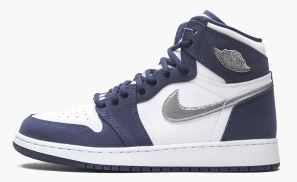 "Air Jordan 1 Retro High CO.JP GS  ""Midnight Navy"" - airdrizzykicks.com"