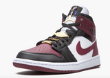 "Air Jordan 1 Mid SE  ""Dark Beetroot""  women - airdrizzykicks.com"