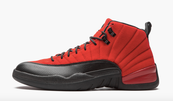 "Air Jordan 12 Retro  ""Reverse Flu Game"" GS - airdrizzykicks.com"